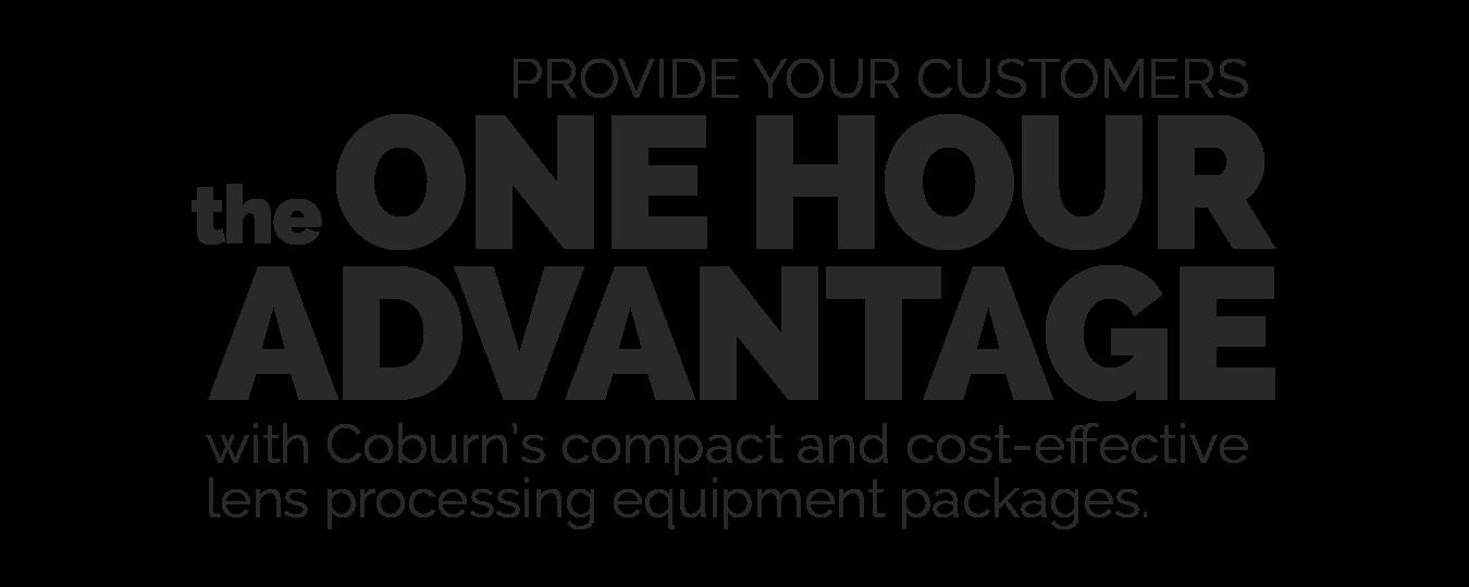 The One Hour Advantage | Coburn Technologies